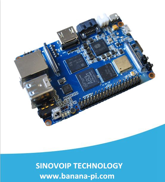 Hot! Development board banana pi M3 officially sells eight-core A83T processor banana pie(China (Mainland))