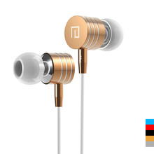 All Compatible Metal Stereo Bass 3.5mm Earphone Headphone Headset With Mic for iphone 4 4S 5 5S 6 Samsung HTC Mobile Phone MP3