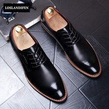 2017 New Stylish Man shoes Pointed Toe Drees Shoes For Man Wedding Shoes Solid Lace Up Comfort Oxford Shoes Free Shipping