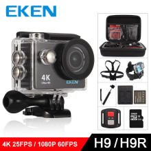 "EKEN H9 Action camera H9R Ultra HD 4K / 25fps WiFi 2.0"" 170D underwater waterproof Helmet Cam camera Sport cam(China)"