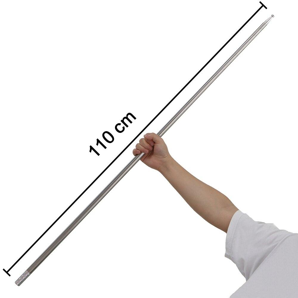 Martial Arts Bo Staff Self Defense Stick Portable Metal Magic Pocket Telesco^ly