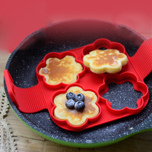 2017 New Products Fantastic Nonstick Pancake Silicone Pancake Silicone Baking Mold Moulds Egg Mold Cake Mold 05