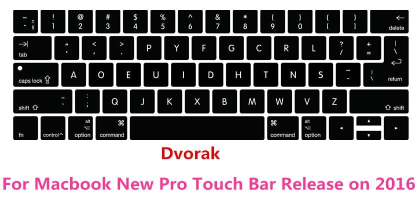 DV-AK-CB-2 KB Covers Dvorak Keyboard Cover for Apple Ultra-Thin Keyboard w//Num Pad