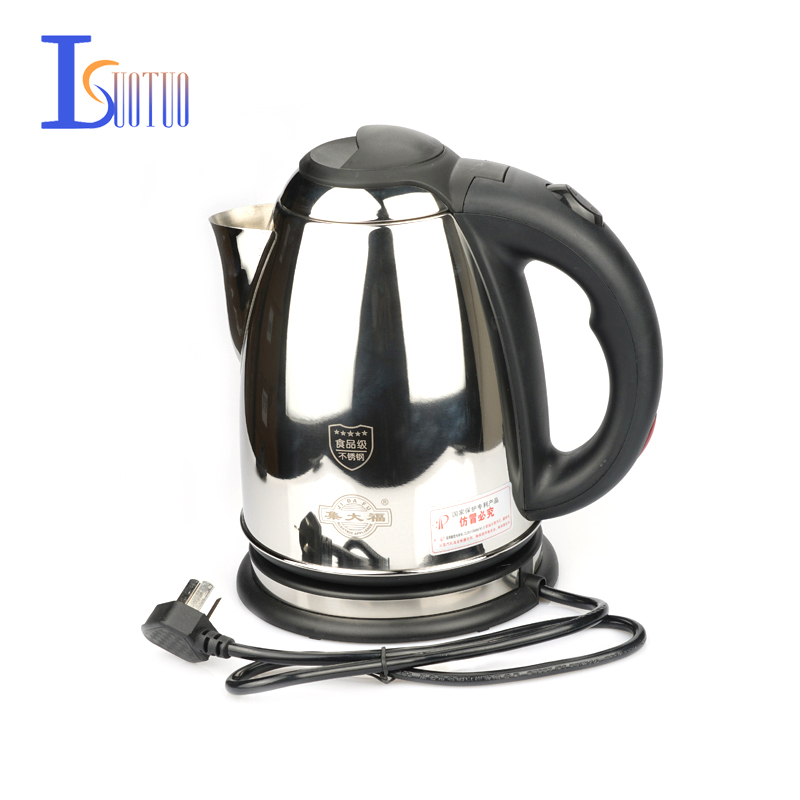 JDC-1800B3 Water Heater Kettle Electric Kettle Automatic Power Off Kettle,stainless steel electric tea stove 1.8L  1500W<br>