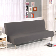 WLIARLEO All-inclusive Sofa Cover Tight Wrap Elastic Sofa Towel Slipcover Covers Couch For Without Armrest Folding sofa bed Gray(China)