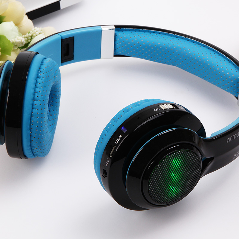 Original JKR Wireless Bluetooth 4.2 Headphones Headset Portable with Microphone for Smartphone PC Gaming Headset Music Earphones