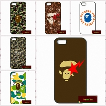 Japan popular fashion Bape Cover case for iphone 4 4s 5 5s 5c 6 6s plus samsung galaxy S3 S4 mini S5 S6 Note 2 3 4  F0368
