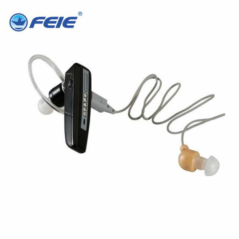 Rechargeable Bluetooth BTE Hearing Aid S-101 Earphones Deaf Cheap Hearing Aids for Elderly People<br>