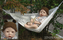Buy Baby doll 50cm Silicone Reborn Baby Dolls Vinyl lovely Reborn Baby Doll Kits Free Shipping