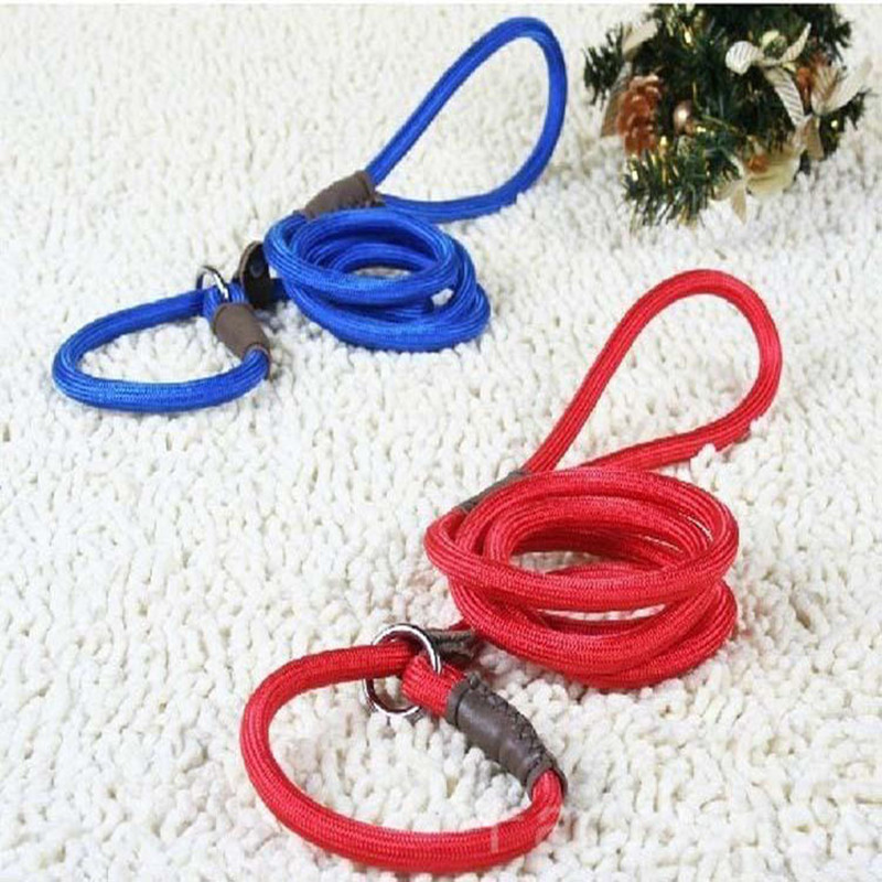 Useful Pet Tow Lead Rope Harness Adjustable Dog Chain Leash Retractable Dog Collar for Big Small Dog Supply 0.6*140cm50C(China (Mainland))
