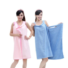 Microfiber towels Bathrobes 3 colors magic bath towls birthday gifts for lady