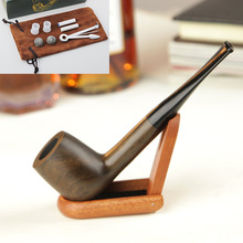 Wooden pipe,Free Type smoking pipe,hand tobacco pipe,wooden tobacco smoking pipes(China)