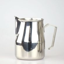 304 Stainless Steel Espresso Coffee Pitcher Japanese Style Coffee Jug MIlk Frother Mug 250/350/550/750ML(China)