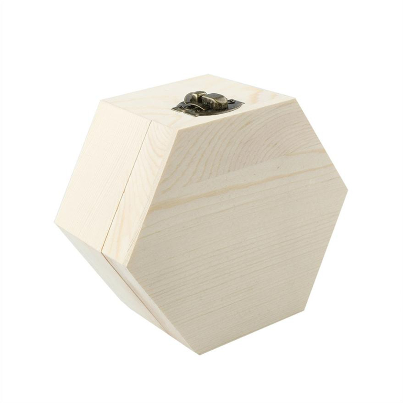 2018 new Fashion Portable Heart Shaped Wooden Storage Box Jewelry Wedding Gift Case Reusable  Box Hot selling good quality C020805