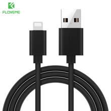 FLOVEME For iPhone USB Cable 5V 2A Fast Charger For iPhone 7 6 6S iPad iPod Phone Accessories Cables Data Sync 1m 2m 30cm Line