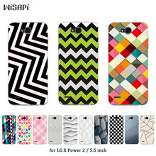 for LG X Power 2 Silicone Case for K10 Power Cover Square Printed Soft TPU Mobile Phone Bags for For K10 K 10 Power Cases(China)
