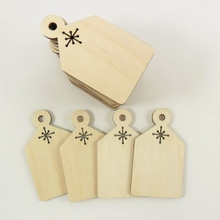 laser cut blank bulk wood christmas ornament patterns(China)