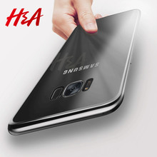 H&A Ultra Thin Soft TPU Case For Samsung Galaxy S7 S6 Edge S8 Plus Note 8 Silicone Transparent Cover Cases For Galaxy S8 S7 Case(China)