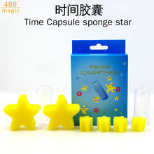 Time Capsule sponge star magic tricks magic props close up magic 400magic(China)