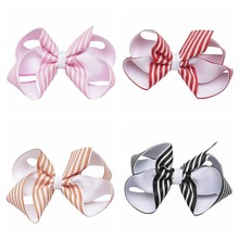 20 pcs/lot , You choose color Girls Twisted Boutique Bow Hair Clips 4 inch