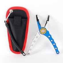 "WORKPRO 7"" Fishing Pliers Aluminum Fishing Pliers Multipurpose for Split Ring Crimping Cutting Hook Remover Fishing Tool"