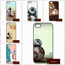 Starwars BB-8 Droid Robot BB8 Cover case for iphone 4 4s 5 5s 5c 6 6s plus samsung galaxy S3 S4 mini S5 S6 Note 2 3 4  DE1107