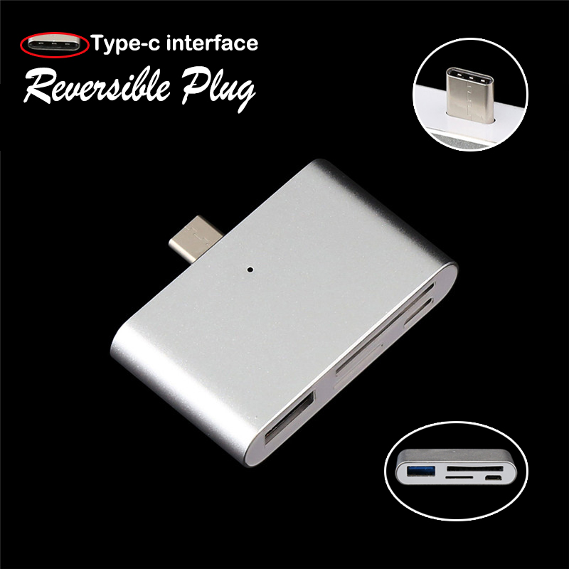 Type-C Reversible Plug Male to Micro USB Female USB-C Cable Adapter Type C Converter For Macbook Nokia N1 ChromeBook Nexus 5X 6P