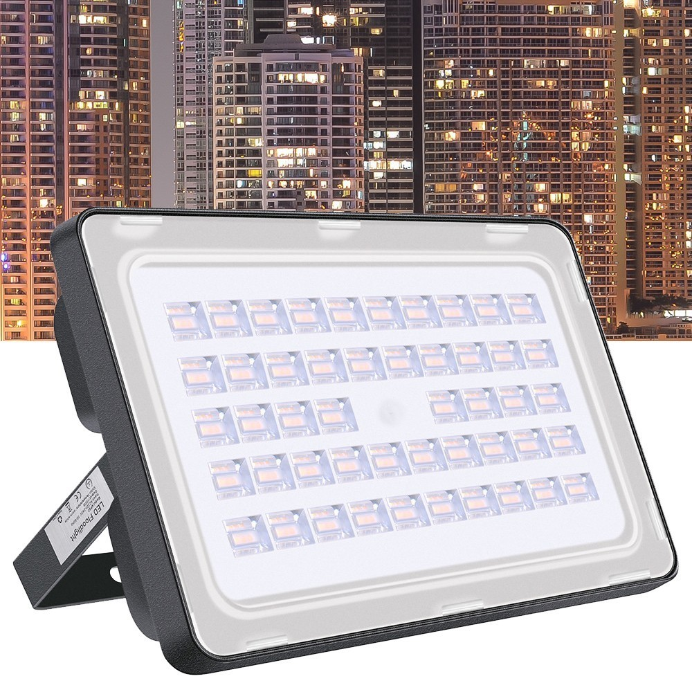 Wholesale Waterproof IP65 150W Led Flood light Outdoor 110V Refletor LED Spotlight Outdoor Lighting Lamp White/Warm White 10pcs<br>