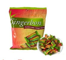 Indonesia Imported GINGERBON Ginger Fudge Sweets,Authentic Soft Ginger Candy,Original Flavor,Traditional Snack,Fit&Tasty,toy