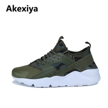 AKexiya Free Shipping 2018 New Arrival sneakers Men Women Pink Black Green  running shoes 36-