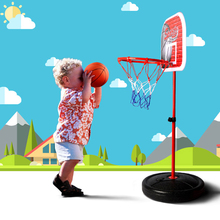 Free Shipping 1.5m High Adjustable Metal Basketball Stands Toys For Children Boys Kids Indoor Outdoor Sport Games Bodybuilding