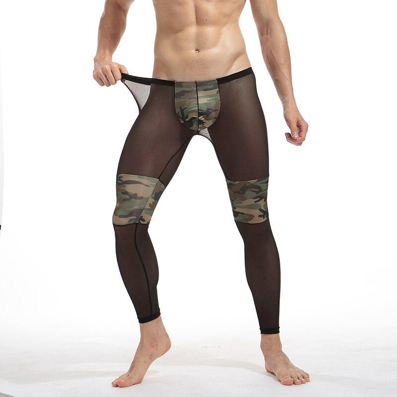 Прозрачные обтягивающие брюки фото 613-394