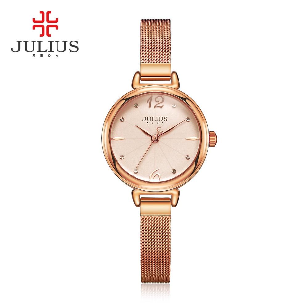 New Top brand Julius watch women luxury dress full steel watches fashion casual Ladies quartz watch JA934<br><br>Aliexpress