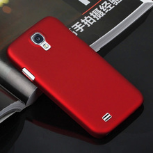 Colorful Plastic Matte Hard Cover Case For Samsung Galaxy S4 GT-i9500 GT-i9505 i9505 i9500 Duos Phone Case Back Cover Shell Bag