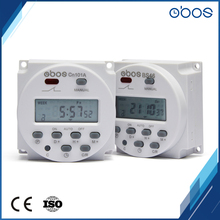 great reduce price rechargeable 60*60*32mm Large LCD dispaly one circle weekly programmable timer control switch