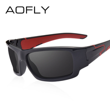 AOFLY New Fashion Polarized Sunglasses Men Women Brand Designer Mirror Sun Glasses Male Goggles Shadow UV400 AF8063(China)