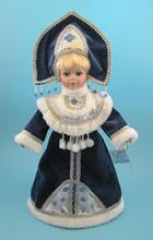 30cm ceramic Christmas Doll winter Russia Exquisite Retro European Victorian style porcelain simulation doll gift for girl(China)