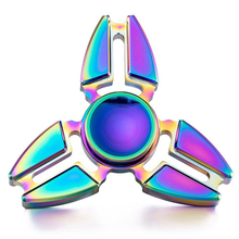 Buy 2017 Hot Selling EDC Triangular Hand Spinner orqbar Metal Professional Fidget Spinner Toys Autism ADHD Hand Spinner for $3.70 in AliExpress store
