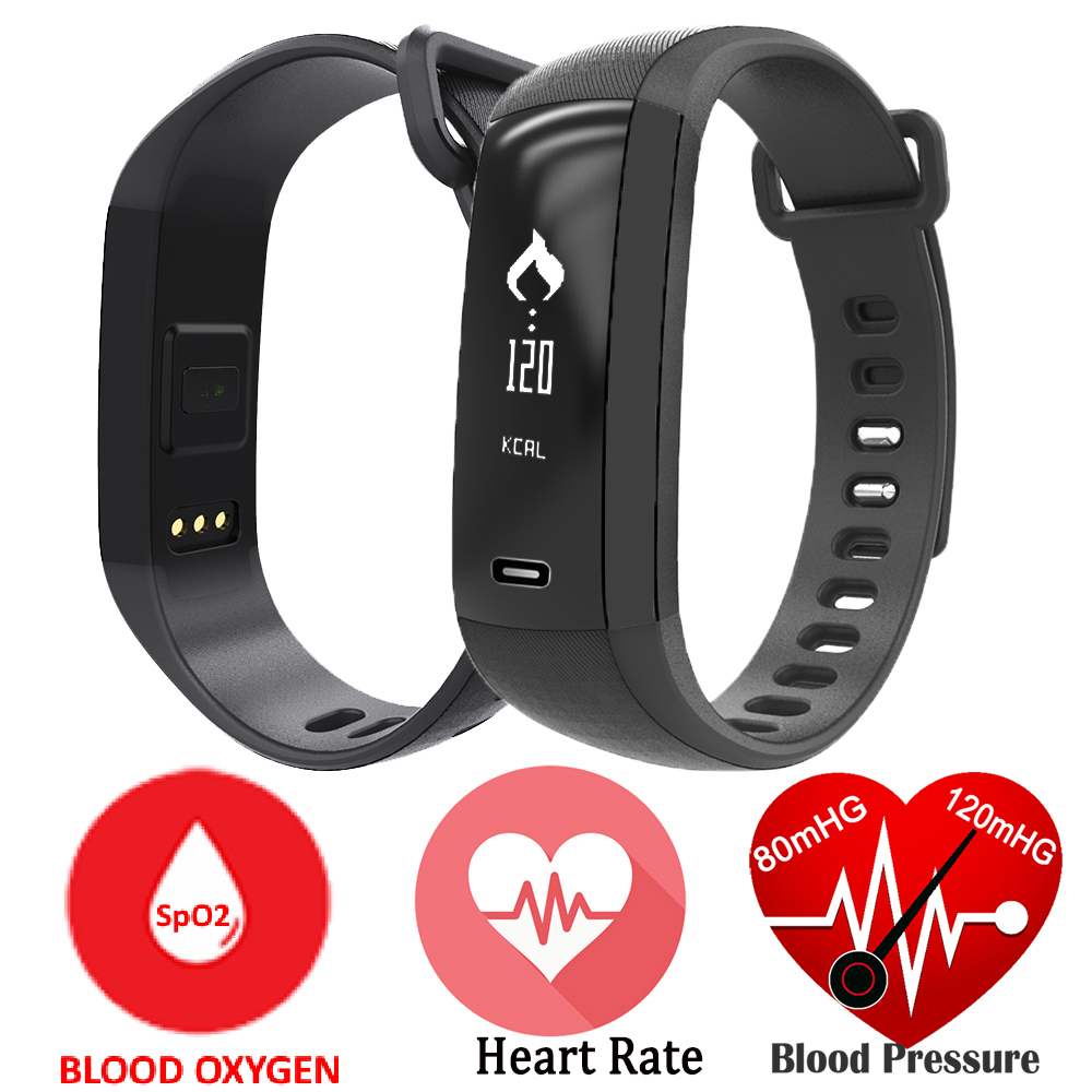 Blood Oxygen Oximeter Smart Band M2 Smartband Heart Rate Monitor Pedometer Bluetooth Bracelet Inteligente Pulso For iOS Android<br><br>Aliexpress