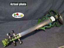 newly model Song carved dragon head 4/4 electric violin,solid wood #9037