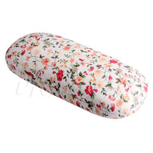 2017 New Floral Eyeglasses Spectacle Glasses Cases & Bags Sunglasses Hard Case Box Women Brand Designer Eyewear Protector Box