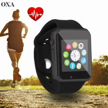 OXA A1 Bluetooth Smart Watch Sport Wristwatch for Android Mobile Phone Step Counting Bluetooth Connection and Sync Function Hot