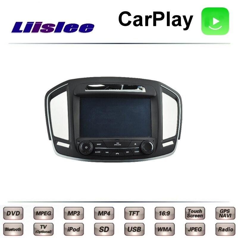 For Opel For Vauxhall For Holden Insignia LiisLee Car Multimedia TV DVD GPS Radio Carplay Original Style Navigation Navi 4