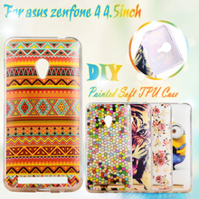 Soft TPU Cases for 4.5inch Zenfone4 Phone Cases For Asus zenfone4 4.5 inch zenfone 4 A450CG TPU Case Cover Shell Housing sehll