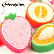 Anlovelysian 3PCS/1lot Kitchen Sponge For Washing Scouring Pad Decontamination Dish Washing Towel Sponge Clearing Wiping cloth