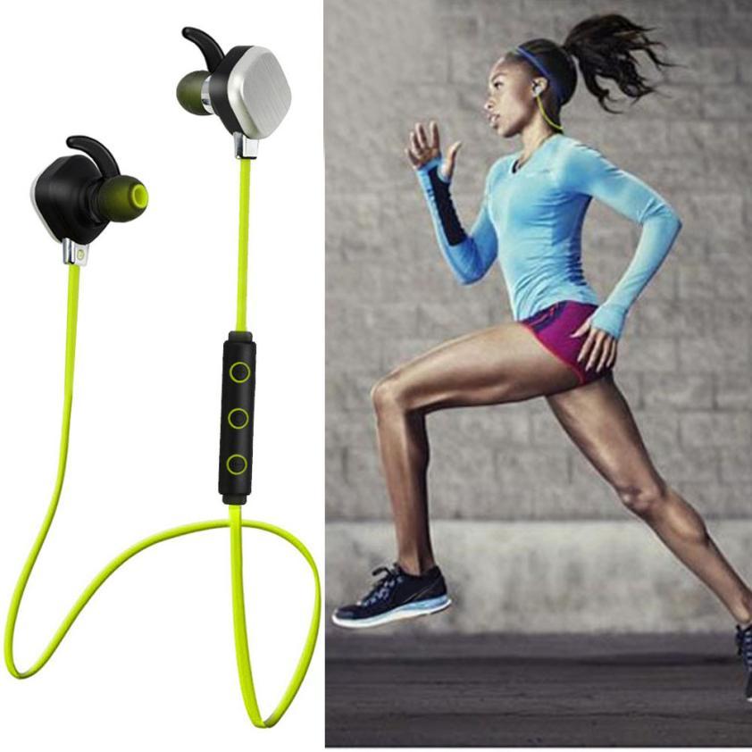 Adroit 1Set  Wireless Bluetooth Headset Stereo Super Bass Headphone Sport Earphone IP55 DEC15<br><br>Aliexpress