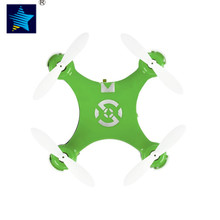 Green RC Quadcopter Mini for Cheerson CX-10 2.4G Remote Control 4CH 6Axis rc helicopters Radio Control Aircraft Mode Drone Toys(China)