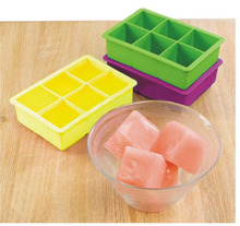 2pc silicone ice cube tray extra large square ice blocks mold bpa free jelly baking mold wine cooler stone acessorios para vinho