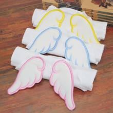 Hot sale Baby Sweat Towel Infant Back Dry Wipe Cloth Angel Wings Baby Back Gauze Absorb Towel Cotton Four layers for baby care(China)