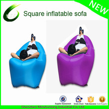 High Quality air couch Outdoor camping banana Inflatable Sleeping Bag portable air sofa sofa gonflable lazy bag air bean bag